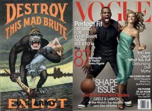 LeBron James Vogue