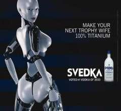 Future Victoria Secret Model Robot